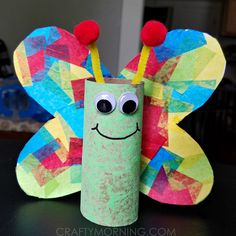 Today my little cousins and I crafted some cardboard tube butterflies using toilet paper rolls! They turned out so adorable and we used a tissue paper technique for the wings. Supplies Needed: Cardboard tube Hot glue gun Pom poms Pipecleaners Tissue paper Scissors Glue Googly eyes Start by folding a white piece of cardstock in …