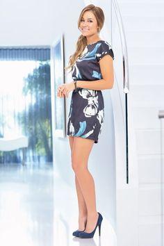 Lauren Conrad- pretty dress and heels