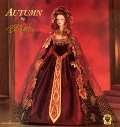 Autumn, by Bob Mackie, one of the Legendary Beauties series.