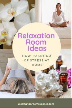 How to let go of stress at home! relaxation room ideas zen, relaxation room ideas diy, relaxation room ideas meditation, relaxation room ideas c Yoga Room Decor, Meditation Room Decor, Relaxation Room, Relaxing Room, Yoga Bedroom, Bedroom Decor, Meditation Raumdekor, Meditation For Beginners, Meditation Tattoo