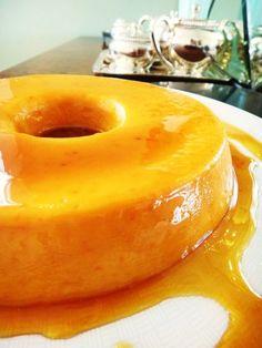 Pudim de tangerina