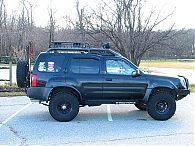 Xterra Rear Bumper & Tire Rack (2000-2004)