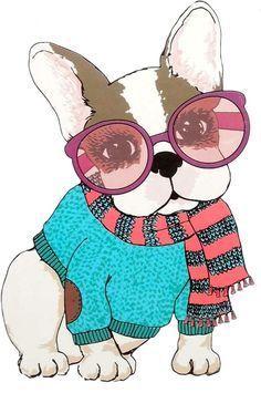Resultado de imagen para perritos simones para imprimir Stitch Games, Dog Illustration, Dog Sweaters, Cartoon Dog, Dog Art, Cute Art, Puppy Love, French Bulldog, Cute Animals