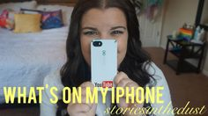 I HAVE SO MANY APPS?? | What's On My iPhone? (storiesinthedust)