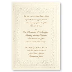 Custom Wedding Invitations, Save the Date Cards & Wedding Stationary