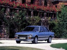 1987 Peugeot 505 V6   V6, 2849 cm³   170 PS / 125 kW