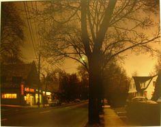 """flashofgod: """"Joel Meyerowitz, Dusk, New Jersey, 1978. """" H O M E"""
