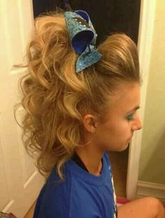 Cheerleader Hairstyles Gorgeous 7 Really Cute Cheerleader Hairstyle Ideas For Your Next Game Pep
