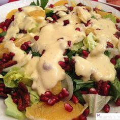 *Πώς να φτιάξεις μία εντυπωσιακή σαλάτα για το γιορτινό τραπέζι!* Ιδέες για Χριστουγεννιάτικη σαλάτα!