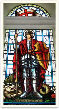 St. George, Patron Saint of England .....St George's Day,23rd April.....