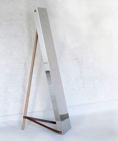 Steel Mirror by Angell Wyller Aarseth
