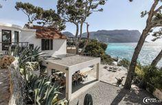La maison d'hôtes 'La Suite Cassis' avec son panorama sur le Cap Canaille et la Méditerranée
