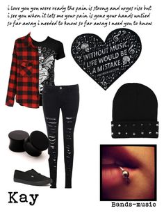"""""""Avenged sevenfold//Kay"""" by x-punk-and-band-stuff-x ❤ liked on Polyvore"""