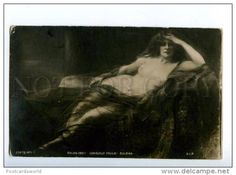 149185 Zuleika NUDE WITCH by Consuelo FOULD vintage SALON 1901