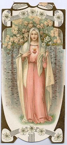 Immaculate Heart of Mary by profkaren, via Flickr