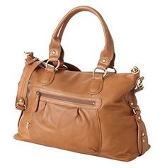 OiOi Tote Diaper Bag – Leather Tan Slouch  http://www.babystoreshop.com/oioi-tote-diaper-bag-leather-tan-slouch/