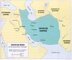 The Safavid Empire: Ruled by Shi'ites. Turkic warriors were a problem, but rulers of the region brought them under control. Same rulers posed threat to Shahs however. Rulers were assigned villages and peasant labor for support. The Safavids were less market oriented than the Ottomans. Persian was the language of the state and Persian etiquette was used in the courts. The bureaucracy of the Safavids contained both recruited slaves which were also used in the army, and Persian Religious…