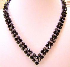 Seed Bead Necklace, Seed Bead Jewelry, Bead Jewellery, Diy Necklace, Beaded Jewelry, Handmade Jewelry, Beaded Bracelets, Beaded Necklace Patterns, Jewelry Patterns