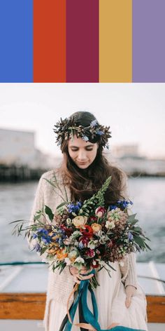 Get inspired by these stunning florals to help you determine the perfect bouquet color palette for your upcoming wedding day! Fall Wedding Flowers, Flower Bouquet Wedding, Autumn Wedding, Floral Wedding, Bride Flowers, Bridal Bouquets, Burgundy Bouquet, Yellow Bouquets, Orange Wedding Colors