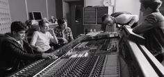 """Pop group One Direction unveiled the music video for their song, """"Little Things,"""" on Friday. The clip features the band laying down the love track in a studio. See the video and read the full story here: http://www.examiner.com/article/one-direction-premiere-studio-jam-music-video-for-little-things-single"""