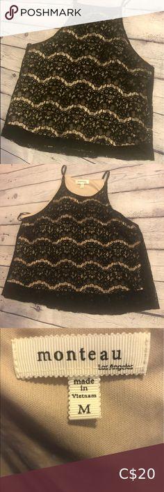 Hanro new strappy vest camisole in 100/% Black cotton