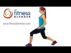 Fitness Blender's 5x5x5 Pulse Workout for Butt & Thighs.  Warm Up: 30 seconds - Jog in Place, Jumping Jacks, Lateral Jumps and High Knees. Workout: Kneeling Leg Raises, Squats, Lunges, Bridges and Downward Dog + Leg Raises. Cool Down: Standing Quad Stretch, Cross Toe Touch Stretch and Hip Flexor Stretch (4/4/12, 21 mins).