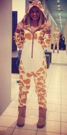 Giraffe by newcosplay onesie - halloween need