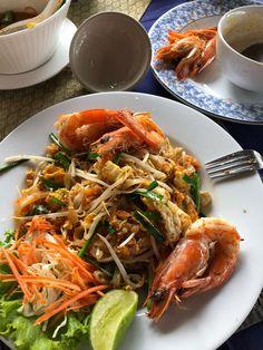 Phad thai noodles, Thailand, Krabi