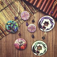Ceramic Pendants Trendy Jewels by WEI #lovemytrendyjewels