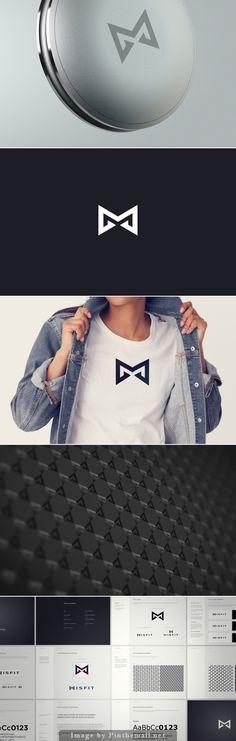 Misfit brand identity by Denis Olenik and Pearl Studio