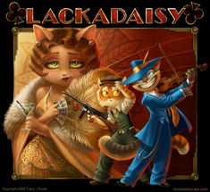 Webcomic set during the Prohibition in St. Louis. With cats and awesome art.