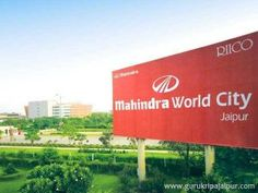 SEZ Mahindra World City Jaipur JDA Approved Plots Residential Plot Commercial Shop & Plot Sell & Buy Plot Ajmer Road NH-8 Jaipur