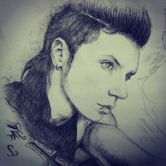 andy biersack drawing - Google Search