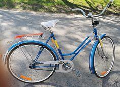 "Monark ""27"" naisten pyörä Bicycle, Retro, Vintage, Bike, Bicycle Kick, Bicycles, Vintage Comics, Retro Illustration"