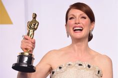 Finally she got the Oscar she deserved! Photo: VanityFair.com #JulianneMoore #oscars2015