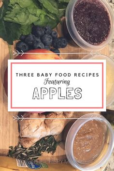 This week Liam ate his first apple sauce and to say he loved it would be an understatement. He ate and ate and ate until I wouldn't give him any more (and he was pretty grumpy about getting c…
