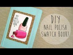 DIY Nail Polish Swatch Book!