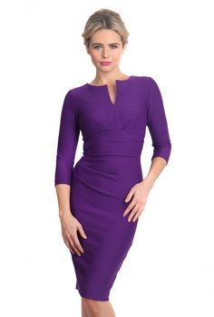work dress with three quarter sleeve - Google Search