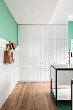 Function Joinery And Architectural Details Pantry Design, Storage Design, Kitchen Design, Architecture Details, Interior Architecture, Interior Design, Conservation Architecture, Sage House, Herringbone Wall