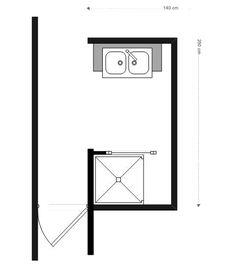 Coin salle de bain 2m2 google search small bathroom for Salle de bain 2m2