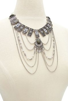 Etched Tribal-Inspired Necklace | Forever 21 - 1002246870