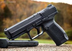 Canik TP9 SA. I'm gettng redundant by adding another 9mm striker fired pistol to this list, but this is the pistol that all the gun guys were talking about in 2014 because of its price and build quality.