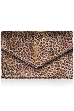 Monogramme Leopard-print Chain Shoulder Bag