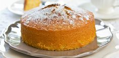 Flourless orange cake