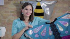 Biene, Schmetterling oder Marienkäfer? Stelle zauberhafte Kostüm-Capes für deine Kinder her und mach sie zum Star jeder Kostümparty.