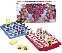 Guess Who? What was your favorite board game growing up?