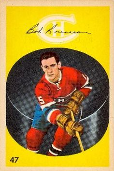 Bobby Rousseau, Montreal Canadiens - Parkhurst rookie card