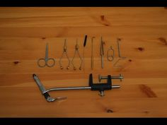 DIY - Fly Tying Tools - How to Make and Using a Whip Finishing Tool for Lure Making (2) - YouTube