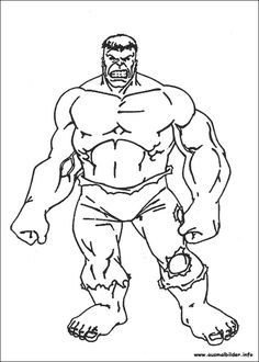Hulk Malvorlagen Ausmalbilder   Ausmalbilder HULK   Pinterest   Hulk