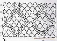 crochet stitch diagram